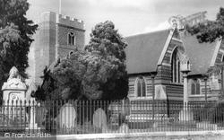 Chalfont St Peter, St Peter's Parish Church c.1960
