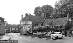 Chalfont St Peter, The Greyhound Inn c.1960