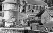Chalford, Christ Church And Round Tower c.1960