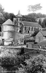 Christ Church And Round Tower c.1960, Chalford