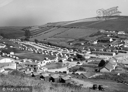 Challaborough, South Hams Caravan Park c.1960