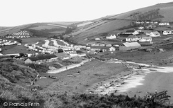 Challaborough, South Hams Caravan Parks c.1955