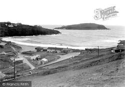 Challaborough, The Bay And Burgh Island c.1950