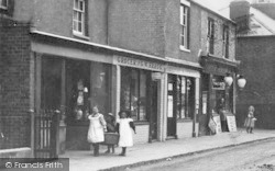 Chalvey, High Street, G.W.Bragg Grocer And Post Office c.1900