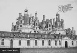 Chateau De Chambord c.1939, Chambord