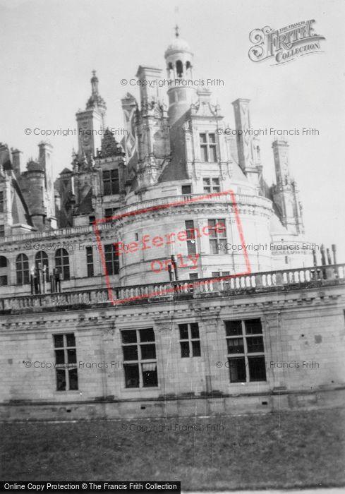 Photo of Chambord, Chateau De Chambord, Chimneys c.1935