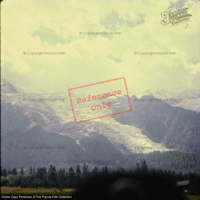 Photo of Chamonix, Glacier Des Bossons 1967