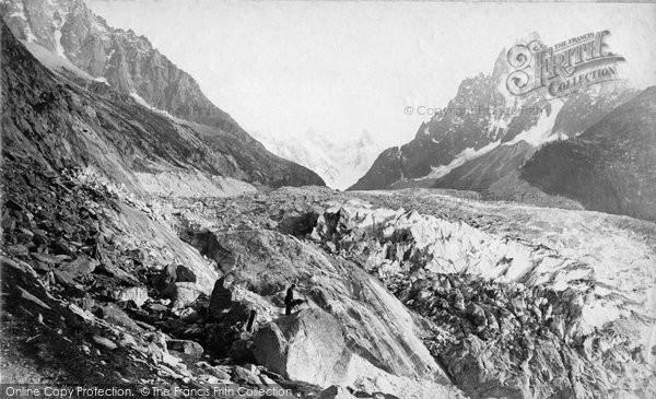Photo of Chamonix, Mer De Glace c.1885