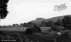 Chanctonbury Ring, c.1955