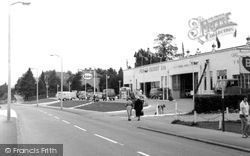 Chandler's Ford, Bournemouth Road c.1960
