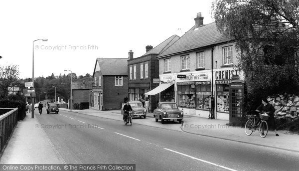 Photo of Chandler's Ford, Bournemouth Road c1960
