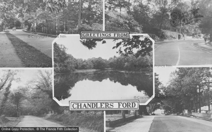 Photo of Chandler's Ford, Composite c.1965