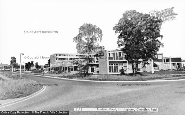Photo of Chandler's Ford, Hiltingbury, Ashdown Road c.1960