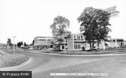 Chandler's Ford, Hiltingbury, Ashdown Road c.1960