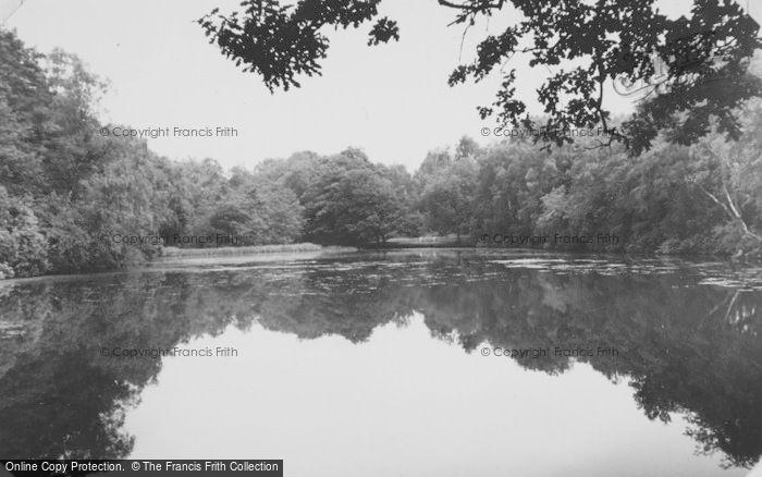 Photo of Chandler's Ford, Hiltingbury Lake c.1955