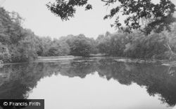 Chandler's Ford, Hiltingbury Lake c.1955