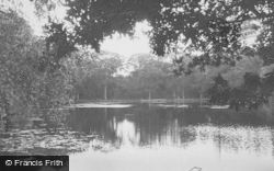 Chandler's Ford, Hiltingbury Lake c.1960