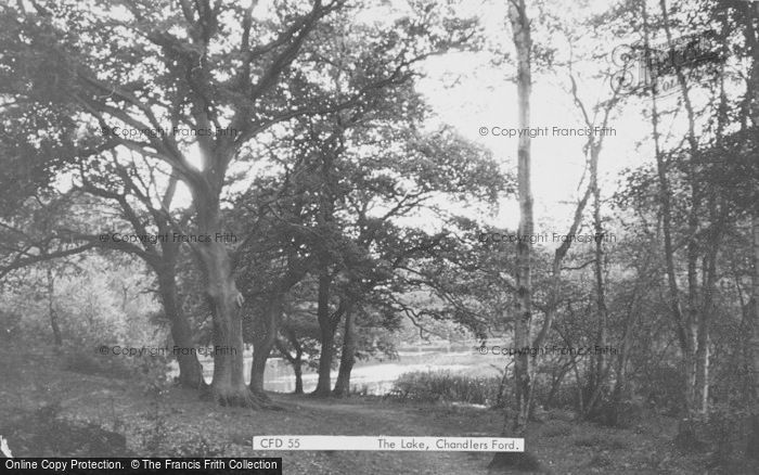Photo of Chandler's Ford, Hiltingbury Lake c.1960