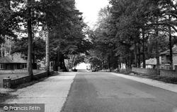 Chandler's Ford, Hiltingbury Road c.1960