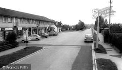 Chandler's Ford, Hiltingbury Road Shops c.1965