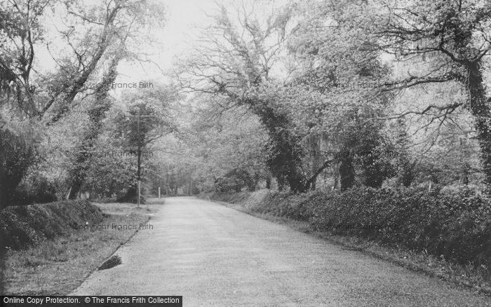 Photo of Chandler's Ford, Hocombe Road c.1955