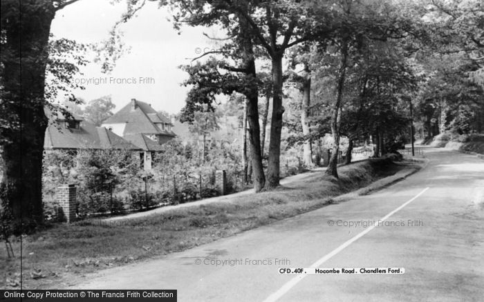 Photo of Chandler's Ford, Hocombe Road c.1960