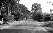 Chandler's Ford, Hursley Road c1955