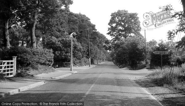 Photo of Chandler's Ford, Hursley Road c1955