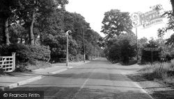 Chandler's Ford, Hursley Road c.1955