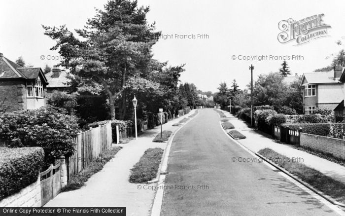 Photo of Chandler's Ford, Kingsway c.1955