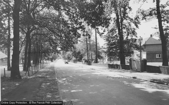Photo of Chandler's Ford, Lakewood Road c.1960