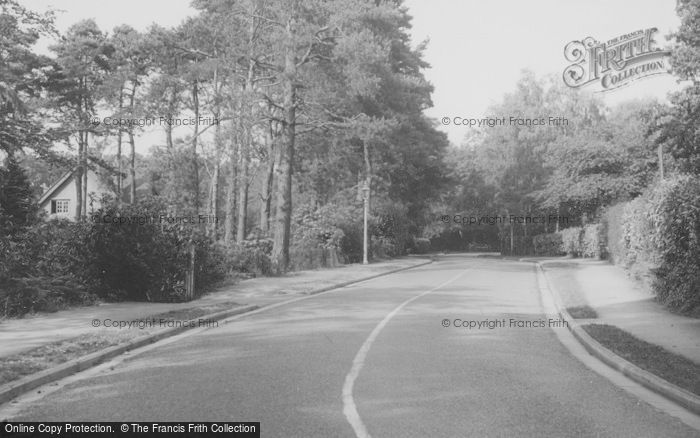 Photo of Chandler's Ford, Merdon Avenue c.1955
