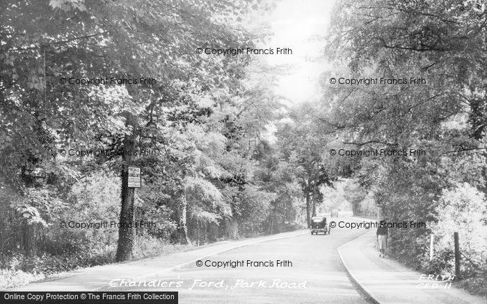 Photo of Chandler's Ford, Park Road c.1955