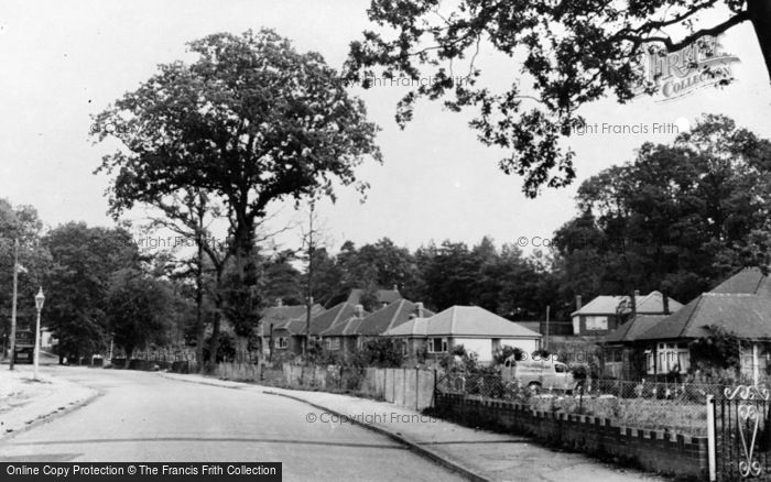 Photo of Chandler's Ford, Park Road c.1960