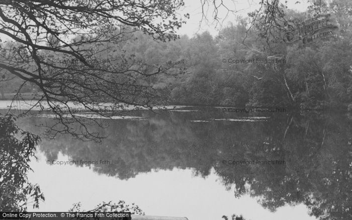 Photo of Chandler's Ford, The Lake c.1955