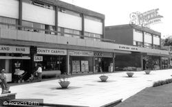 Chandler's Ford, The Shopping Precinct c.1965