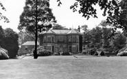 Chapel-en-le-Frith, Bank Hall c1940