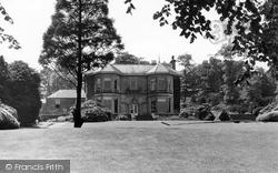 Bank Hall c.1940, Chapel-En-Le-Frith