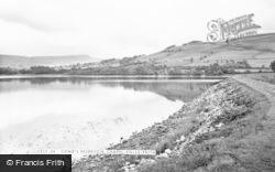 Comb's Reservoir c.1955, Chapel-En-Le-Frith
