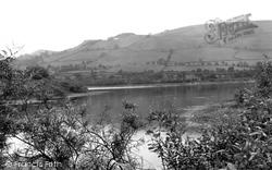 Combs Lake c.1940, Chapel-En-Le-Frith