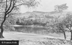 Combs Reservoir c.1960, Chapel-En-Le-Frith