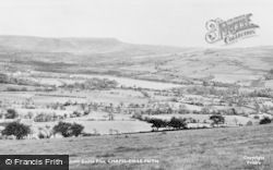Combs Reservoir From Eccles Pike c.1960, Chapel-En-Le-Frith