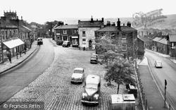 Market Place And Market Street c.1955, Chapel-En-Le-Frith