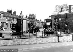 Market Place c.1940, Chapel-En-Le-Frith