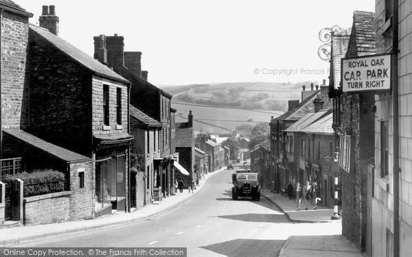 Chapel-En-Le-Frith, Market Street c1940