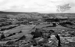 View From Eccles Pike c.1940, Chapel-En-Le-Frith