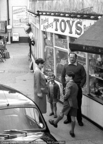 Photo of Chapel St Leonards, A Family c.1959