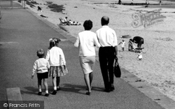 Chapel St Leonards, A Family Outing c.1960