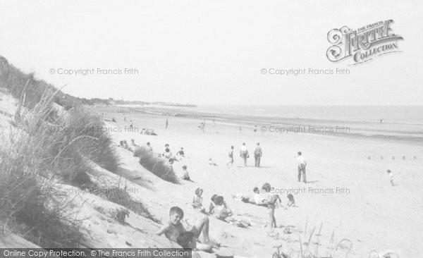 Photo of Chapel St Leonards, Beach c.1955
