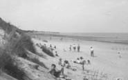 Chapel St Leonards, Beach c.1955